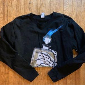 Custom Rook Cropped Sweatshirt